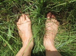 Earthing - get your bare feet on!