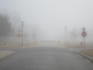 Stop! Do not enter the fog!